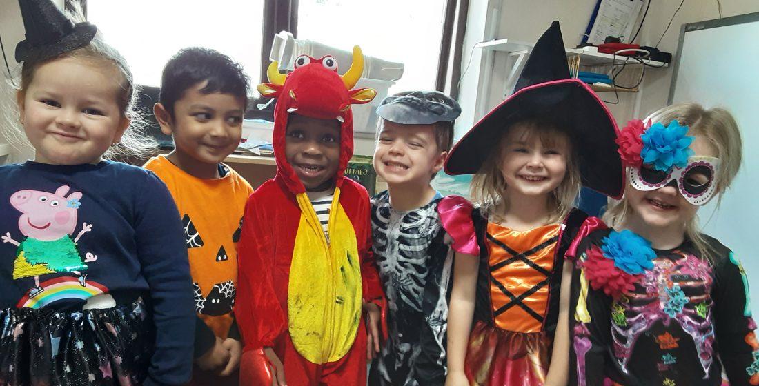 Halloween fun at Purple Childcare